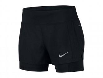 Nike Eclipse 2 i 1-løbeshorts (damer)
