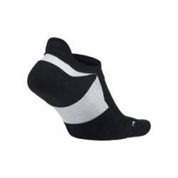 Nike Elite Cushioned No-Show - løbestrømper - Sort