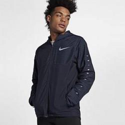 Nike Essential - løbejakke med hætte til mænd - Blå