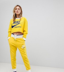 Nike Exclusive To ASOS Archive Joggers In Yellow - Yellow