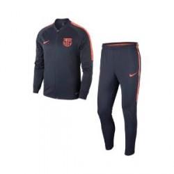 Nike FC Barcelona Dri-FIT Squad-fodboldtræningsdragt til mænd - Blå
