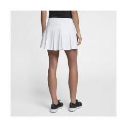 Nike Flex-golfnederdel (35,5 cm) til kvinder - Hvid