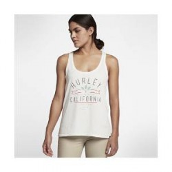 Nike Hurley Cali Vibes Perfect– tanktop til kvinder - Cream