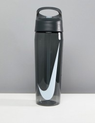 Nike Hypercharge Straw Black Water Bottle - Black