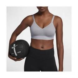 Nike Indy Breathe– sports-bh med let støtte til kvinder - Grå