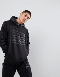 Nike Jordan 23 Logo Hoodie In Black 908354-010 - Black