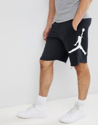 Nike Jordan Air Fleece Shorts In Black AQ3115-010 - Black