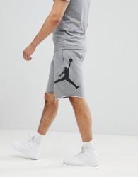 Nike Jordan Air Fleece Shorts In Grey AQ3115-091 - Grey