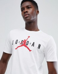 Nike Jordan Air Logo T-Shirt In White AA1907-100 - White