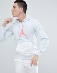 Nike Jordan Air Pullover Hoodie In Grey AJ0805-043 - Grey