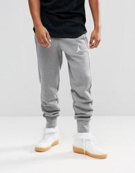 Nike Jordan Flight Fleece Joggers In Grey 823071-091 - Grey