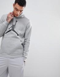 Nike Jordan Flight Fleece Pullover Hoodie In Grey AH4507-063 - Grey