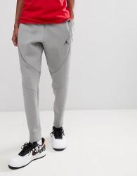 Nike Jordan Flight Fleece Tech Joggers In Grey 879499-091 - Grey