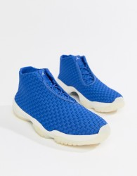 Nike Jordan Future Trainers In Blue 656503-402 - Red