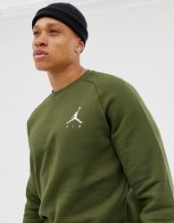 Nike Jordan Logo Sweat In Green 940170-395 - Green