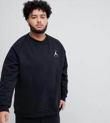 Nike Jordan Logo Sweatshirt In Black 940170-010 - Black