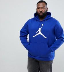 Nike Jordan PLUS Flight Fleece Pullover Hoodie In Blue AH4507-455 - Blue