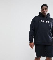 Nike Jordan PLUS Pullover Hoodie In Black AH4509-010 - Black