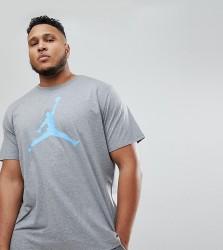 Nike Jordan PLUS T-Shirt With Large Logo In Grey 908017-091 - Grey