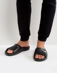 Nike Jordan Sliders In Black 716985-011 - Black