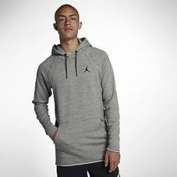 Nike Jordan Sportswear Wings-sweatshirthættetrøje til mænd - Grå