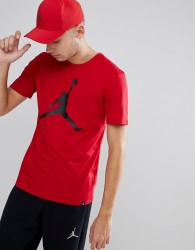 Nike Jordan T-Shirt With Large Logo In Red 908017-687 - Red