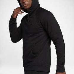 Nike Jordan Wings - fleecehættetrøje til mænd - Sort