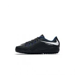 Nike Jr. HypervenomX Phelon 3 - fodboldsko til små/store børn (kunstgræs) - Sort