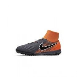Nike Jr. Magista ObraX II Academy Dynamic Fit TF-fodboldstøvle til små/store børn (kunstgræs) - Grå