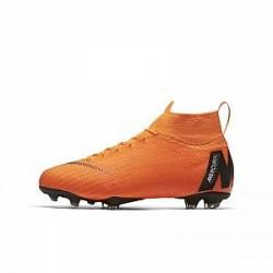 Nike Jr. Mercurial Superfly 360 Elite-fodboldstøvler til store børn (fast underlag) - Orange