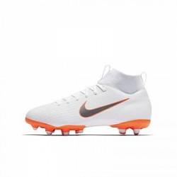 Nike Jr. Superfly VI Academy Just Do It MG-fodboldstøvle til små/store børn til flere typer underlag - Hvid