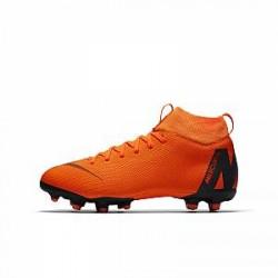 Nike Jr. Superfly VI Academy MG-fodboldstøvlen til små og store børn (flere typer underlag) - Orange