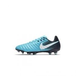 Nike Jr. Tiempo Legend VII– fodboldstøvle til store børn (fast underlag) - Blå