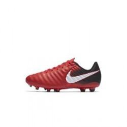 Nike Jr. Tiempo Ligera IV– fodboldstøvle til store børn (fast underlag) - Rød