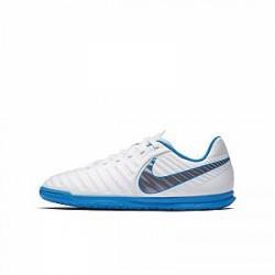 Nike Jr. TiempoX Legend Club VII IC-fodboldsko til små/store børn til indendørs - Hvid