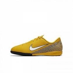 Nike Jr. Vapor XII Academy Neymar Jr IC-fodboldsko til små/store børn til indendørs - Gul