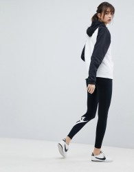 Nike Leg A See Leggings In Black - Black