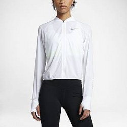 Nike - løbejakke til kvinder - Hvid
