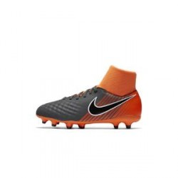 Nike Magista Obra II Academy Dynamic Fit FG– fodboldstøvle til små/store børn (fast underlag) - Grå