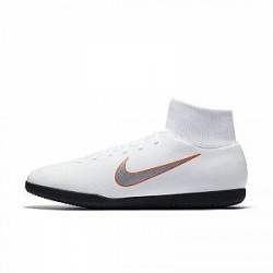 Nike MercurialX Superfly VI Club Just Do It IC-fodboldsko (indendørs/bane) - Hvid