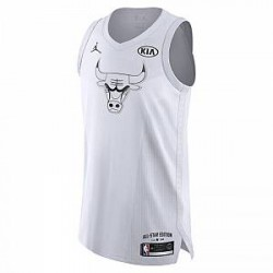 Nike Michael Jordan All-Star Edition Authentic Jersey. Jordan NBA Connected-trøje til mænd - Hvid