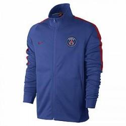 Nike Paris Saint-Germain Franchise - fodboldjakke til mænd - Blå