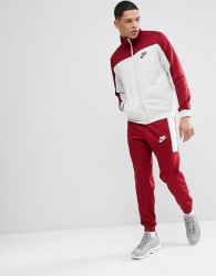 Nike Poly Tracksuit Set In Red 861774-677 - Red