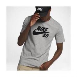 Nike SB Logo - T-shirt til mænd - Grå
