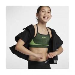Nike Seamless-sports-bh til store børn (piger) - Sort