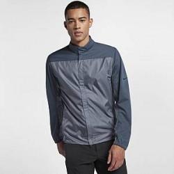 Nike Shield - golfjakke med lynlås til mænd - Grå
