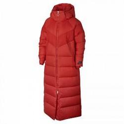 Nike Sportswear Down-Fill-parka til kvinder - Rød