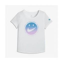 Nike Sportswear - T-shirt til store børn (piger) - Hvid