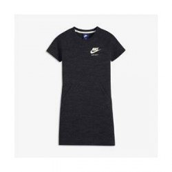Nike Sportswear Vintage-kjole til store børn (piger) - Sort