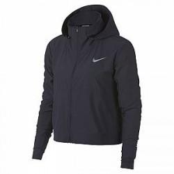 Nike Swift-løbejakke til kvinder - Grå